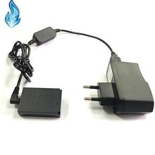 ACK E12 5V 8V Bank Cáp USB + DR E12 DC Coupler LP E12 Giả Pin + Adapter dành Cho Canon EOS M M2 M10 M50 M100 Camera