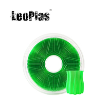 Petg-Filament Clear Transparent Green Printing-Supply Plastic-Material 3d-Printer Leoplas