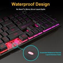 Gaming Mechanical Keyboard Gaming RGB Backlight
