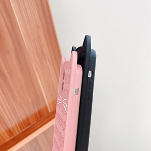 Image 5 - Phone Case For iPhone 12 11 Pro X XR XS Max 12 Mini 6 7 8 Plus SE 2 Relive Stress Pop Fidget Toys Push Cat Soft Silicon Cover