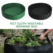 1 2 3 5 7 gallon green plant grow bag non woven fabric vegetable trees flower container cup nursery garden supplies flowerpot 13-100 Gallon Fabric Grow Bag Breathable Pot Planter Root Pouch Container Plant Smart Pot Garden Supplies for Vegetable/ Plant