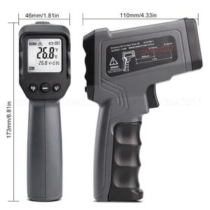 Image 3 - Non contact Infrared Thermometer  50~550/750/1100/1300/1600 degree Max/Min/Dif/Avg Measurement Industrial high temperature Gun
