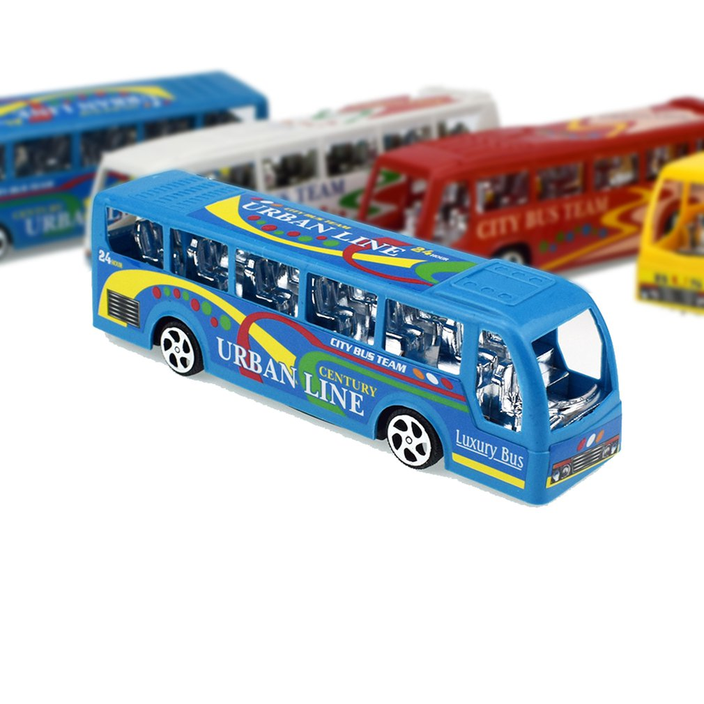 Children's Inertia Bus Toys Inertial Toys For Presents Kid's Toys Gifts