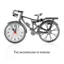 1Pc ABS Retro Bicycle Alarm Clock Cool Style Fashion Personality Needle NZ-035 Popular  22*6*13cm