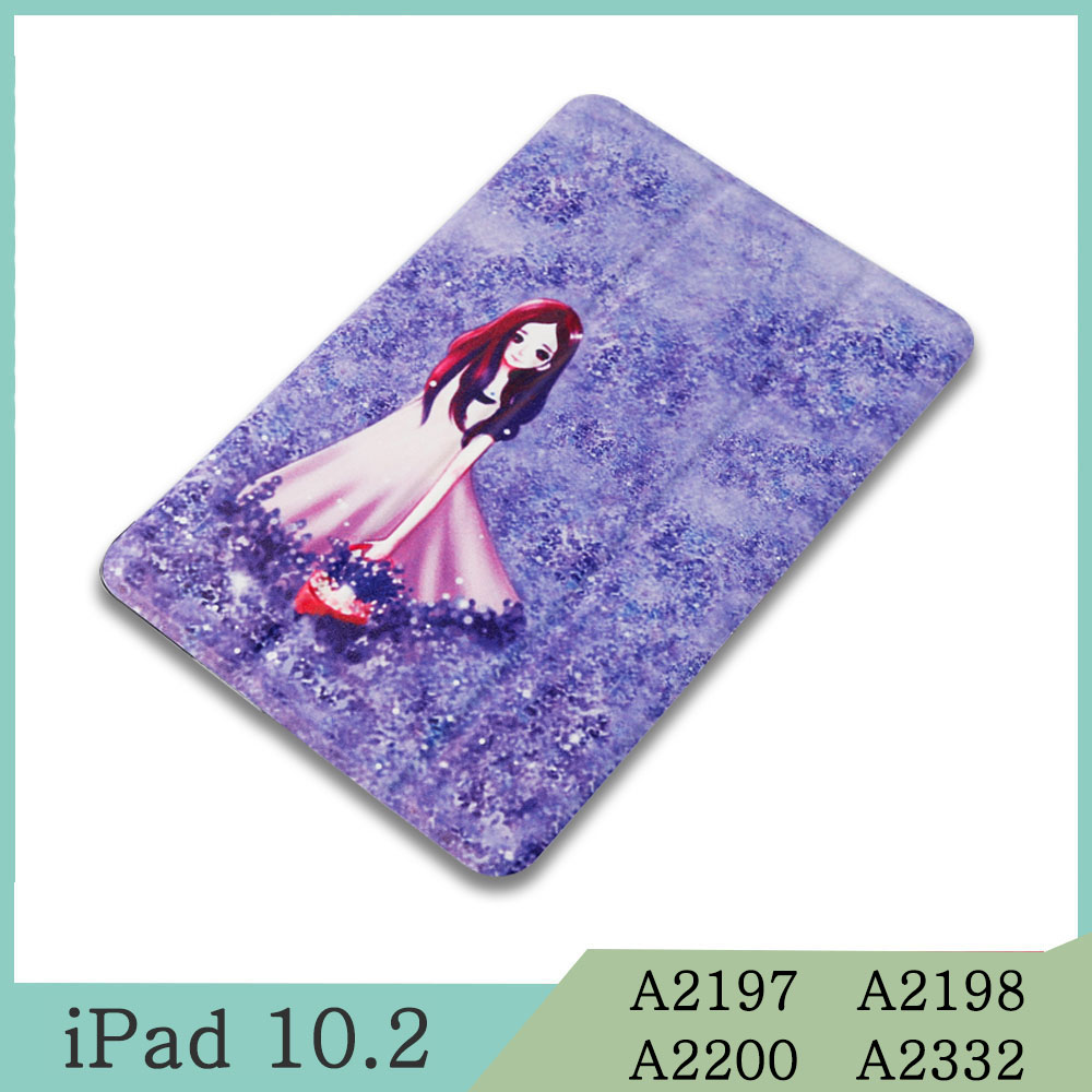 For iPad 10.2 Yellow Magnetic Case for Apple iPad 7th 10 2 2019 A2197 A2198 A2200 A2232 WI FI PU