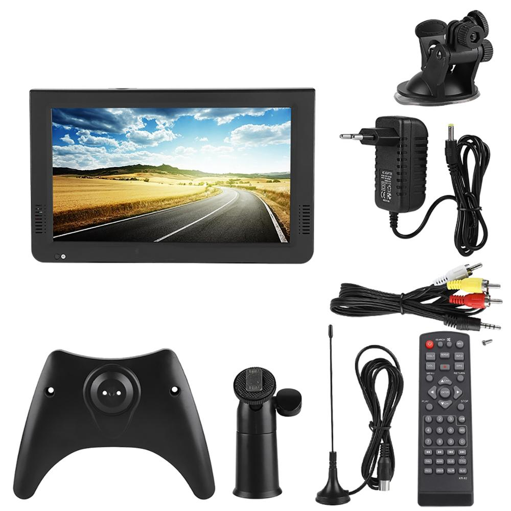 LEADSTAR-DVB-T2 Digital de alta sensibilidad para coche, televisión de 10 pulgadas, estéreo para TV, circundante, 1080P