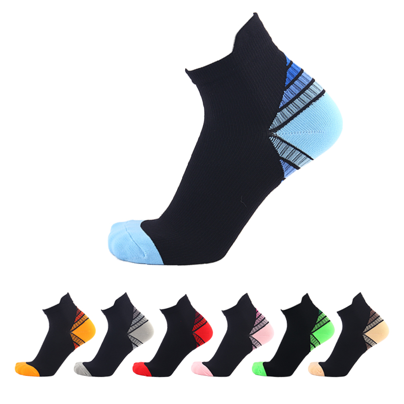 1 Pair High Quality Foot Compression Socks For Plantar Fasciitis Heel Spurs Arch Pain Comfortable Socks Venous Socks 7 Colors