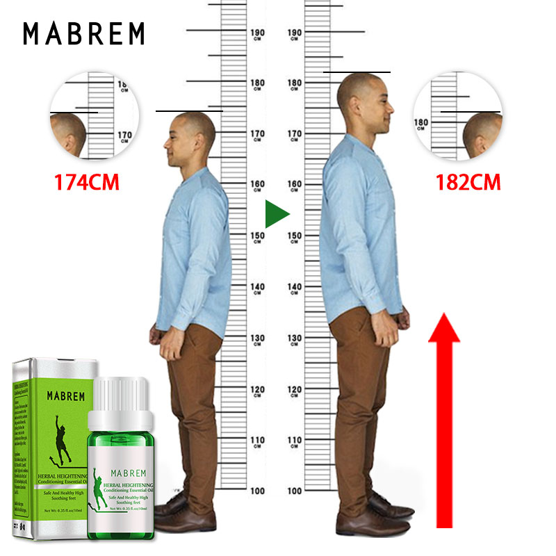 10ML Famous Brand Height Increasing Oil Medicine Body Grow Taller Essential Oil Foot Health Care Products Promot Bone Growth image