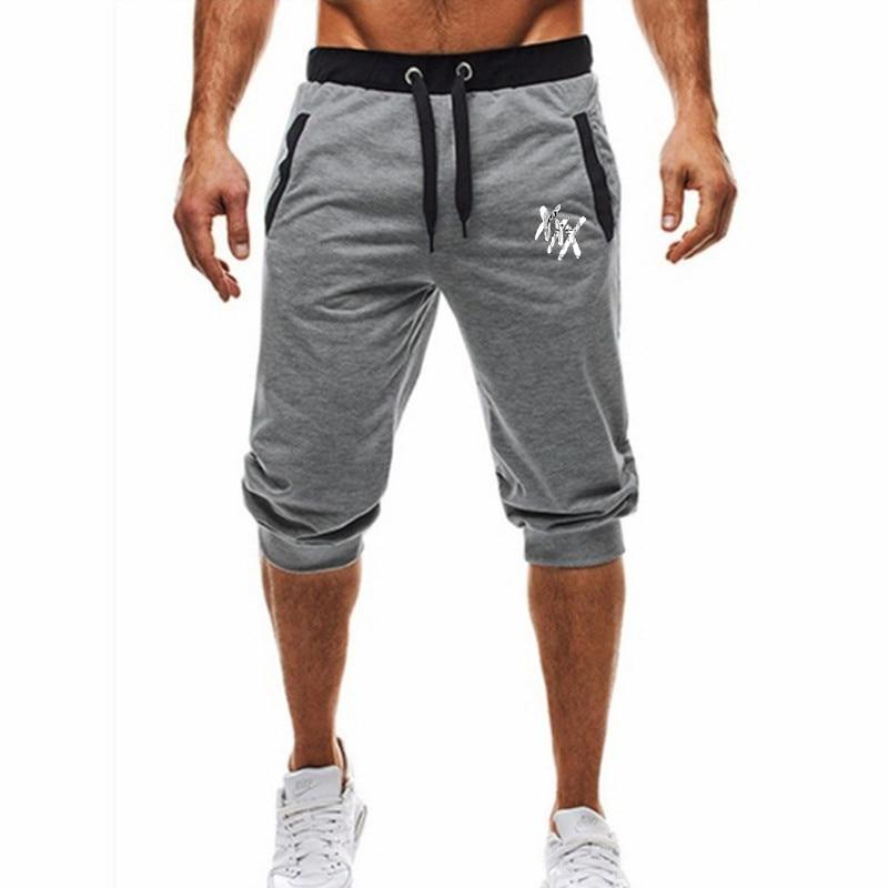 2019 Men's Breeches Sports Casual Tight Harem Soft 3/4 Fashion New Brand Men's Sweatpants Summer Comfort Short Masc