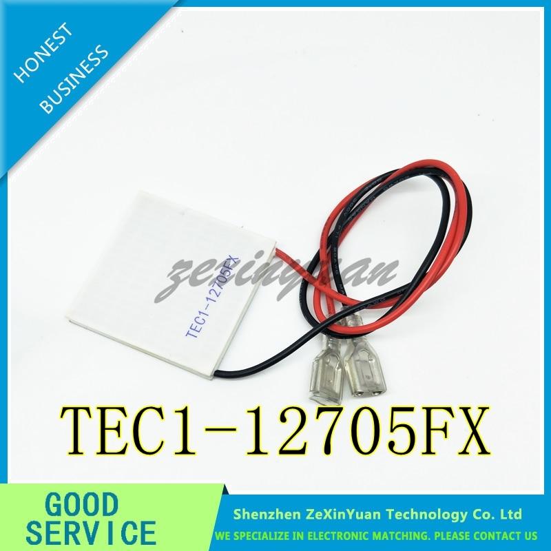 1PCS  TEC1-12705FX Thermoelectric Cooler Peltier 40*40*4mm TEC1 12705FX Thermoelectric Module