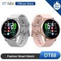 Горячая Распродажа DT NO.1 DT88 Смарт-часы для активного отдыха умные фитнес-трекер спортивные модные часы для мужчин и женщин для бега Q8