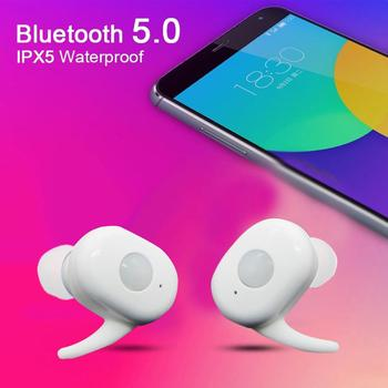 GOOJODOQ Ture Wireless Bluetooth Earphone 5.0 Earbuds Headphones Wireless With Microphone Sports Waterproof Headset For xiaomi