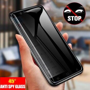 Перейти на Алиэкспресс и купить Анти-шпионское закаленное стекло для Samsung Galaxy S20 Ultra S20 + S20 Note 10 Plus A51 A71 A31 полная защита экрана