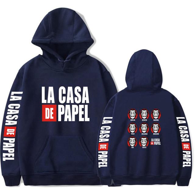 LA CASA DE PAPEL THEMED HOODIE (18 VARIAN)