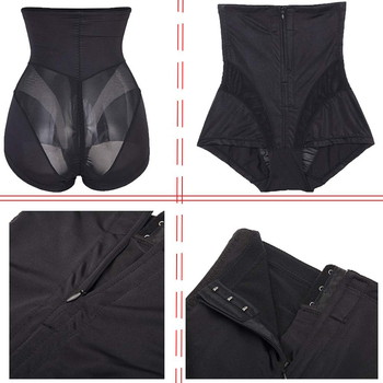 2Twinso High Waist Trainer Slimming Pants with Zipper Women Tummy Control Panties Hot Underwear Sexy