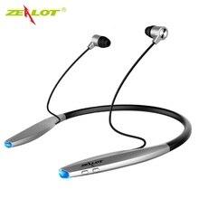 ZEALOT H7 słuchawki sportowe bluetooth z magnesem wodoodporne bezprzewodowe słuchawki z pałąkiem na kark słuchawki douszne z mikrofonem dla iPhone Android