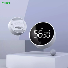 Xiaomi MIIIW LED Digital Kitchen Timer For Cooking Shower Study Alarm Clock Magnetic Electronic Cooking Countdown Time Timer