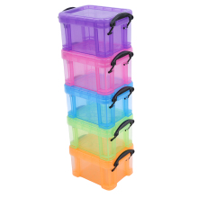 Creative Home Candy Color Lock Mini Cute Desktop Storage Box Home Storage Accessories