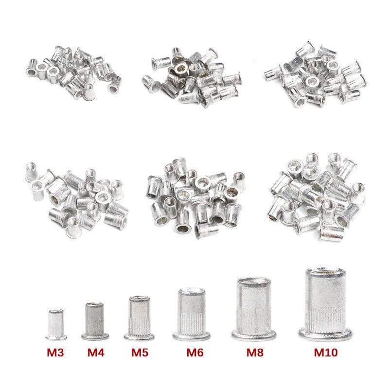 50pcs M3//M4//M5//M6//M8//M10 Four Prong Furniture T Nut Inserts For Wood Oa