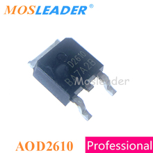Mosleader AOD2610 TO252 100 pezzi DPAK 60V 46A n channel Made in China 15mR alta qualità