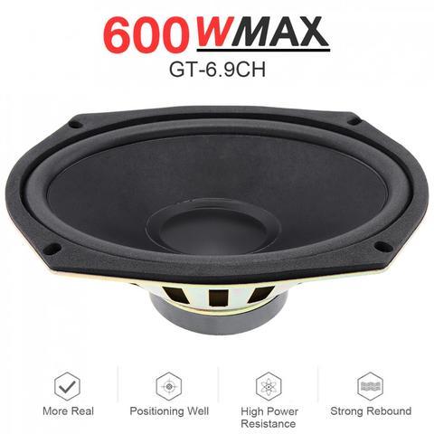 1 pcs 6x9 polegada 600 w carro universal coaxial alto falante porta do veiculo auto