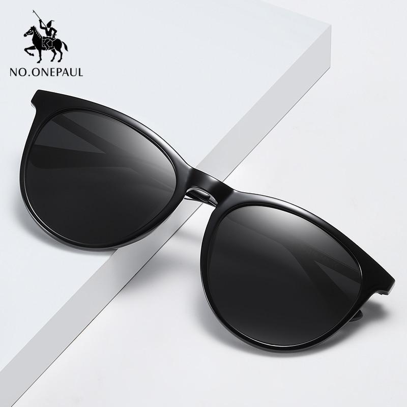 NO.ONEPAUL Frame 100% UV400 Protection Vintage Driving Men Women Classic Retro Polarized Sunglasses Lighter Design Square