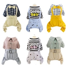 Pet-Coat Clothing Puppy Yorkshire-Jacket Small Cat-Dog-Jumpsuit Chihuahua for Large Cute