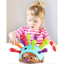 Robak jeż zasoby edukacyjne Sorter z numerami drobny silnik jeż zmysłowa dobra zabawka z silnikiem tanie tanio TY001 Urodzenia ~ 24 Miesięcy 2-4 lat 5-7 lat Learning Resources Spike kids toys sorter toy sorter with numbers worms magnetic