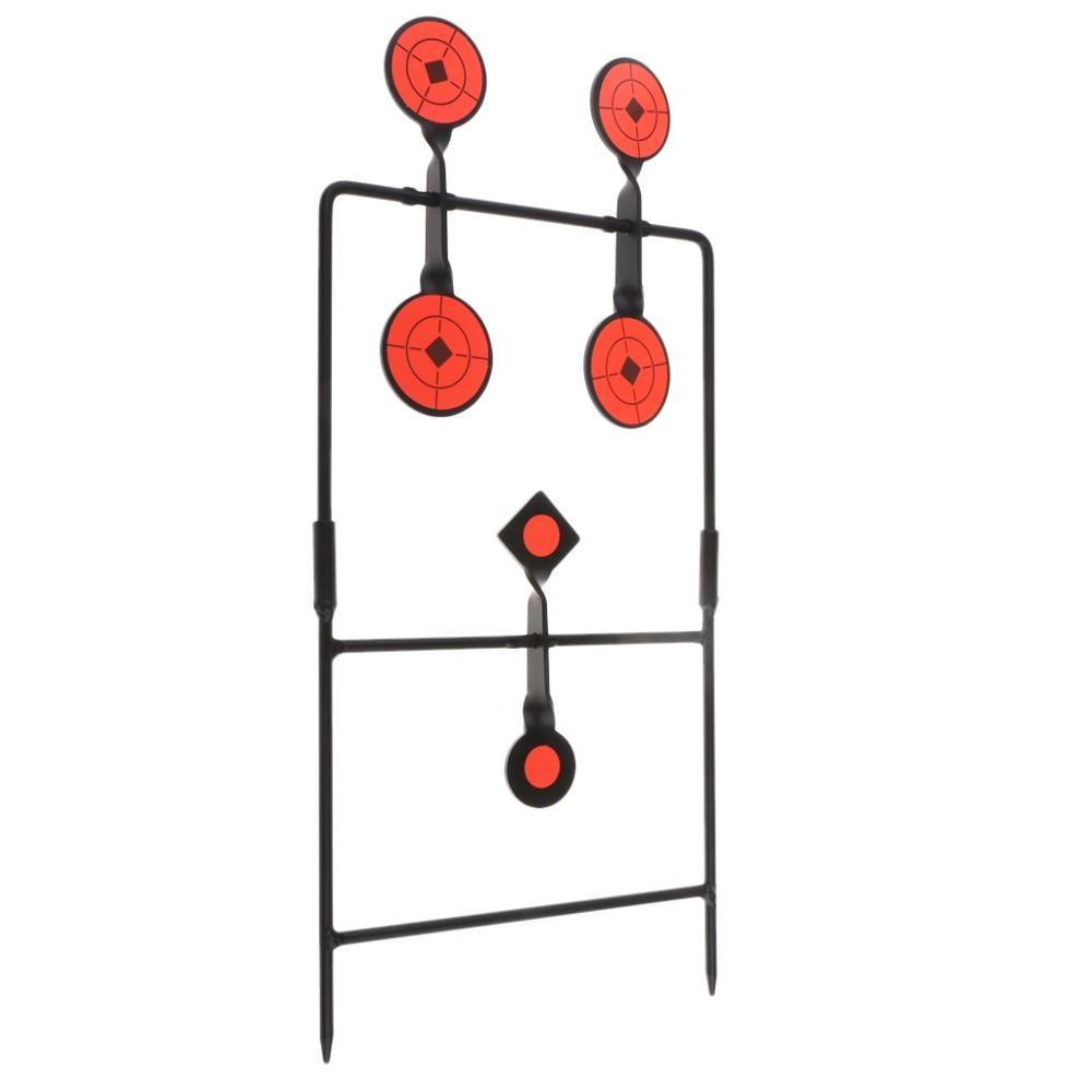 1-6 Targets Self Resetting Metal Target Set Spinning Revolver pistol Air Gun Rifle For Hunting shooting Training Accessories