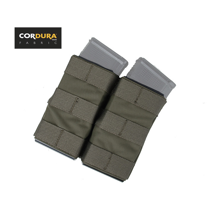 TMC TS Double Mag Pouch 5.56 Magazine Pouch MOLLE Fast Draw Open Top Tactical