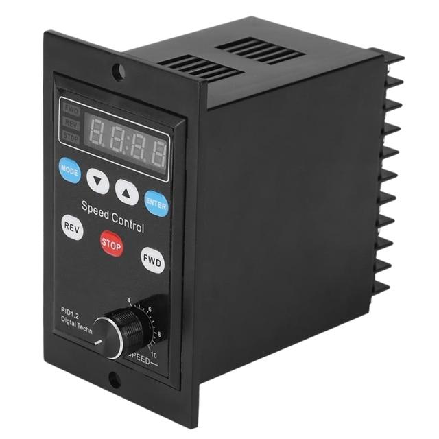 Ux-52 디지털 디스플레이 모터 속도 컨트롤러 모터 거버너 소프트 스타트 도구 220V Ac 6W-400W