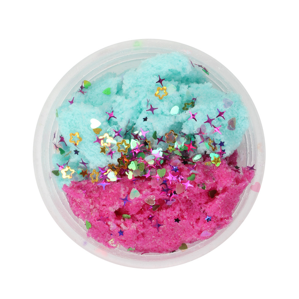 Clouds Mud Colorful Mixing Cotton Candy Slime Anti Stress Stress Kids Clay Toys Decompressed Cloud Mud #A