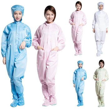 Anti Static and Dust Free Medical Protective Suits for Covering Full Body Provides Protection from Virus
