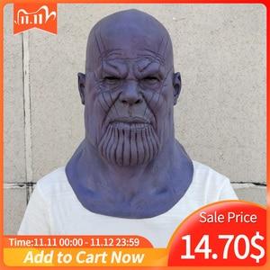 Image 1 - Gants de luxe pour Thanos, gants, Cosplay, masques pour bras, accessoires de Collection fête dhalloween