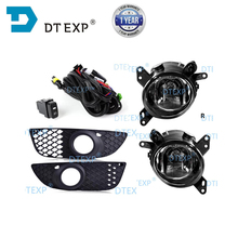 цена на Fog Lights H11 Front Lamps With Wires Grille Covers For Lancer Lancer-ex 2008 2009 2010 2011 2012 2013 2014 with bulbs