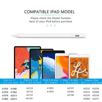 Rysik do rysika Apple IOS rysik do tabletu iPad 2018-2020 ołówek rysik dotykowy rysik tanie i dobre opinie amzvvn CN (pochodzenie) Ekran pojemnościowy Dla apple