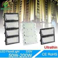 LED projecteur 50W 100W 200W éclairage LED ca 220V 240V LED lampadaire étanche IP65 éclairage extérieur LED projecteur