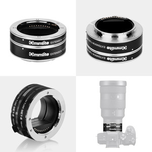 Image 2 - COMMLITE CM MET E Automatic Macro Extension Tube Ring Set Auto Focus TTL Exposure for Sony E mount Mirrorless Cameras & Lens