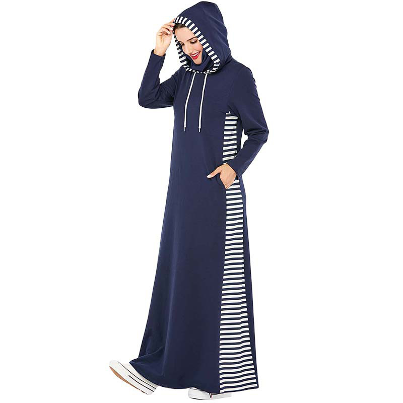 Hooded Long Sport Dress