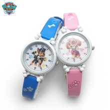 Paw Patrol Cartoon Figure Watch Toys Children's Electronic Waterproof Watch Leat