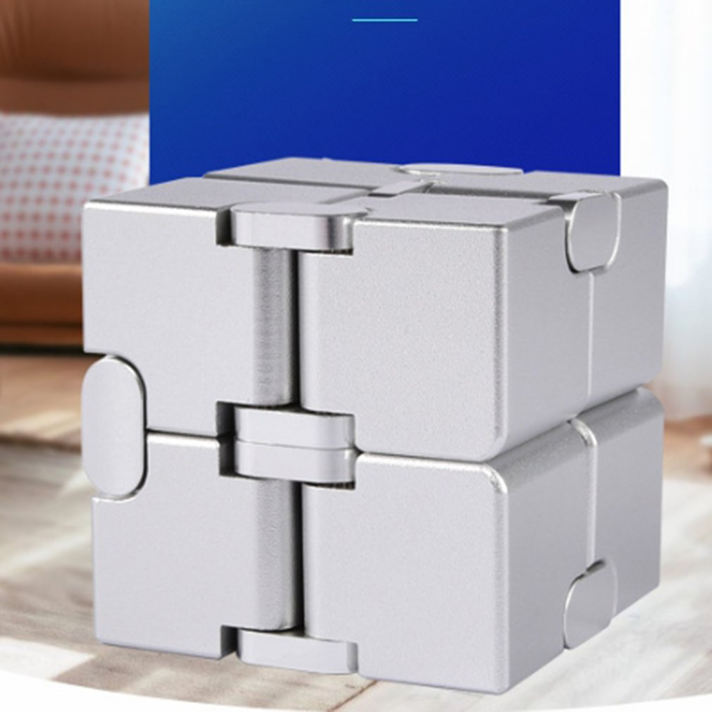 2020 Antistress Infinite Cube Infinity Cube Cool Cube Office Flip Cubic Puzzle Stress Reliever Autism Toys Relax Toy For Adults