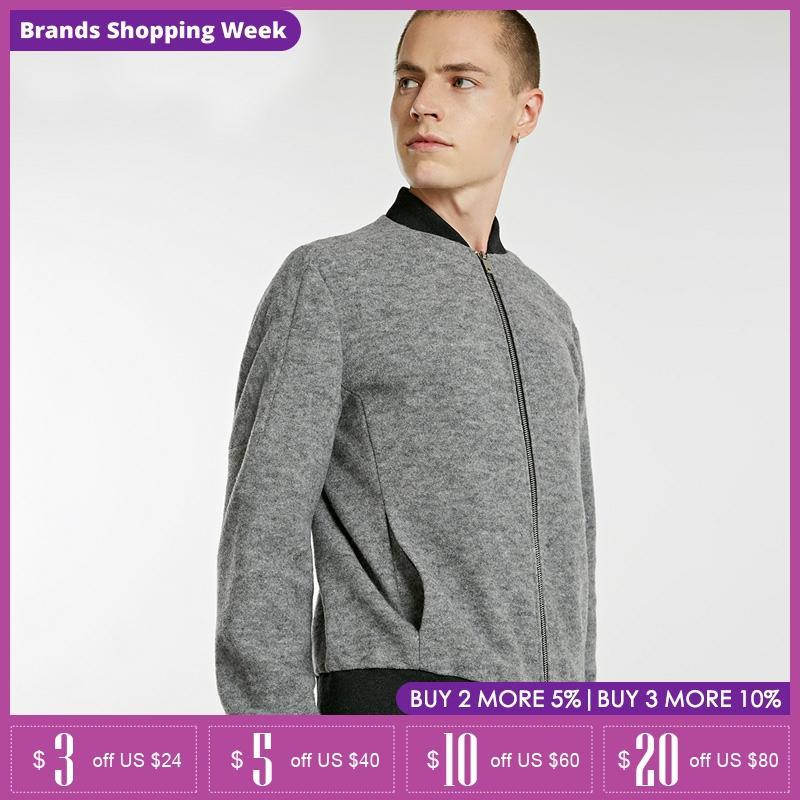 Jack Jones Mens new wool jacket Short Bastketball coat | 218327505
