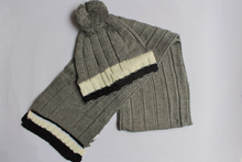 009# шапка и шарф для женщин, классические женские высокого качества алфавита трикотажные хлопок шарф теплая шапка бесплатная доставка