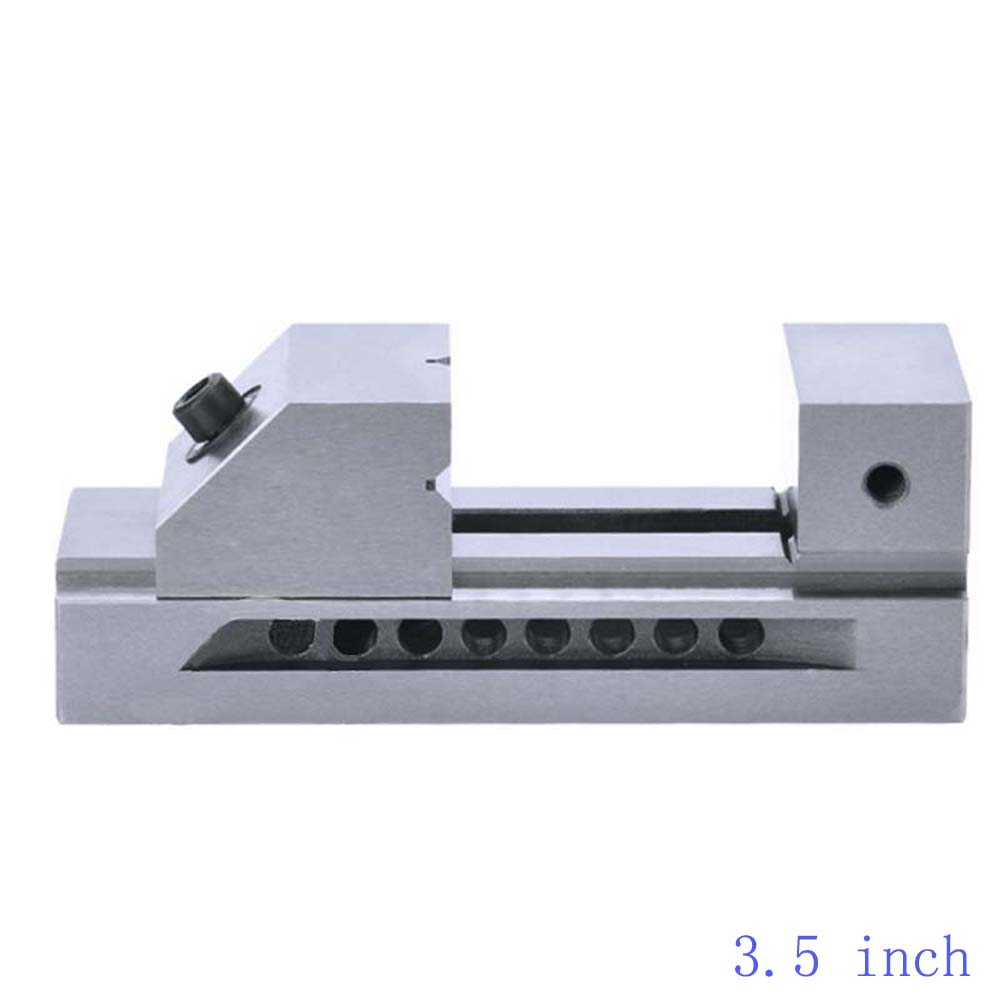 """3.5"""" inch Fast Moving Vise CNC Vise Gad Tongs Plain Vice For Surface Grinding Milling EDM Machine High Precision Machine vise