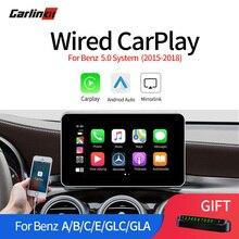 Мультимедийный умный автомобиль ретро с Apple Carplay Box для Benz A/B/C/E/GLS/GLE NTG5.0- iOS AirPlay поддержка карта музыка
