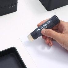 Nusgin – bâton de colle solide Transparent à haute viscosité, accessoires de papeterie de bureau pour étudiants, bricolage manuel
