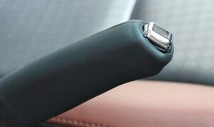Image 4 - Auto Silikon Hand Brems Abdeckung E Bremse Protector für renault clio 3 opel corsa opel meriva megane 4 dacia sandero stepway leon fr