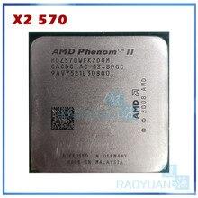 Двухъядерный процессор AMD Phenom II X2 570, 3,5 ГГц, HDZ570WFK2DGM 80 Вт, разъем AM3 938pin