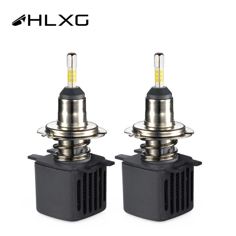 360 Degree 3D LED H4 H7 4 Sides 9005 HB3 LED H11 H8 H1 Car Headlight Bulbs High Low Beam nebbia 12V With SAMSUNG CSP Chips HLXG