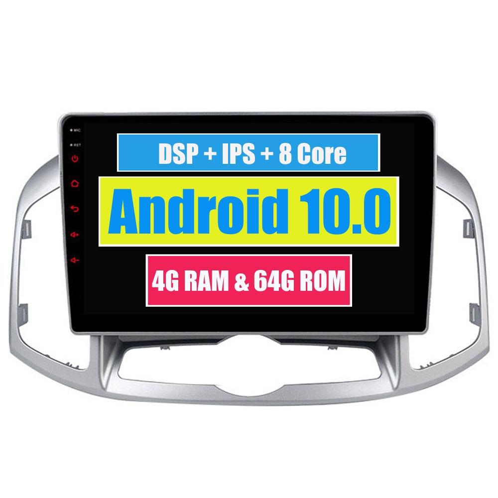 F/ür Chevrolet Captiva 2011-2017 Autoradio-Radio 10,1 Zoll Android 9.1 Mit Lenkradsteuerung Steuerger/ät WiFi USB Car Play Mirror Link